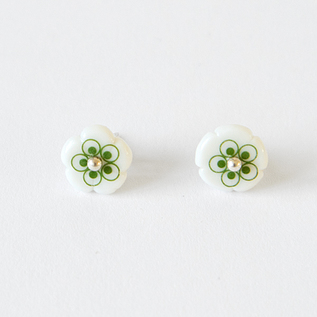 ピアス flower stud mini
