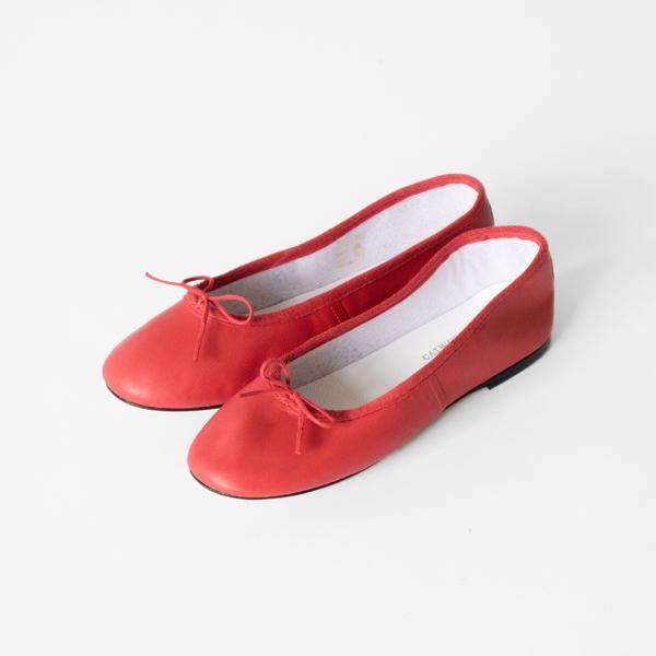 バレエシューズ Ballet Shoe Red