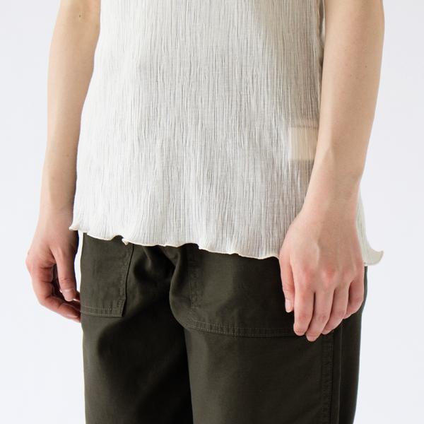 裾(OFF WHITE) ※ライトグレーのインナー着用