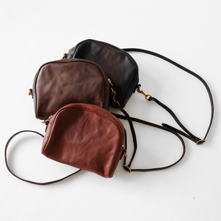 LEATHER OFFICER POUCH バッグ