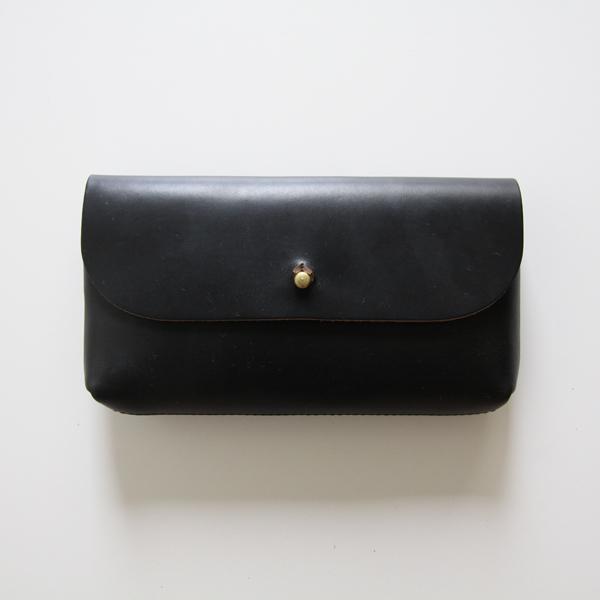 FLAP POUCH-L(Black)