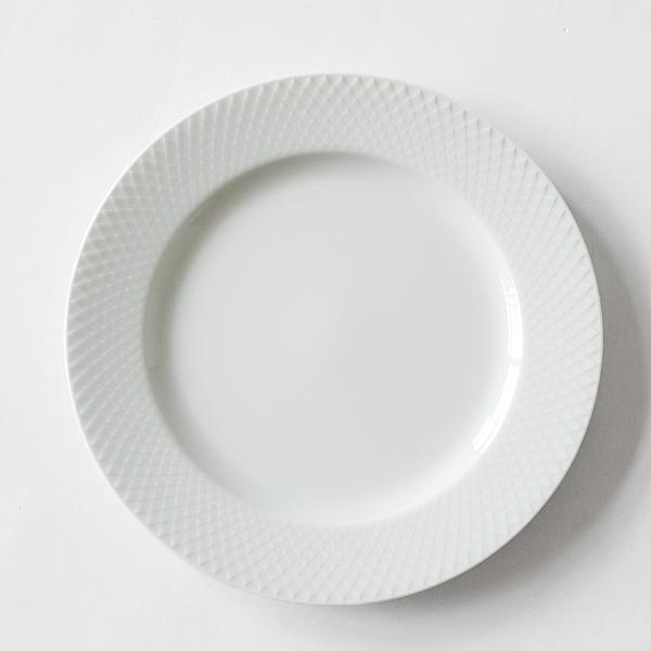 プレート RHOMBE WHITE(27cm)