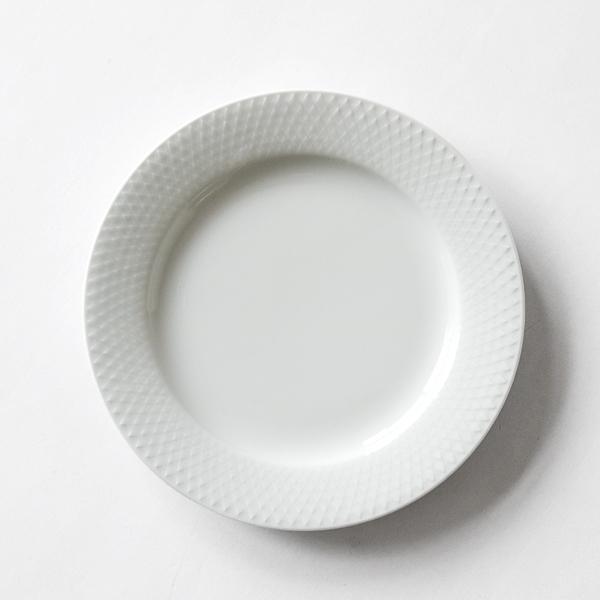 プレート RHOMBE WHITE(23cm)