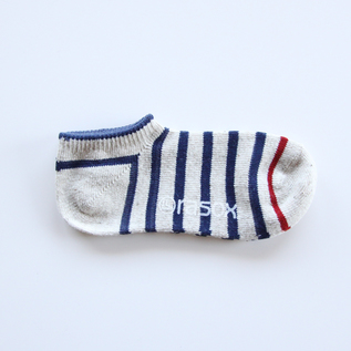 Men Cotton Border Row Socks