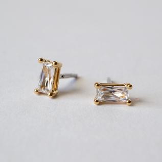 Catchless earrings Honesty Gold