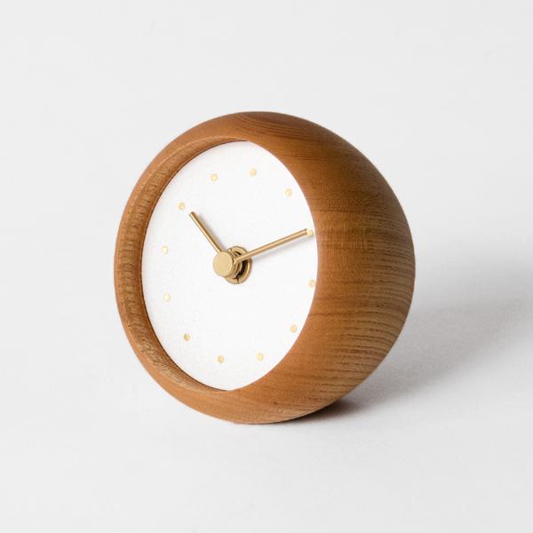はなもっこ 置時計 プレーン(水晶)