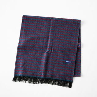 シルクウール紗織りストール