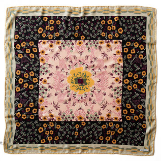 MANTERO シルクツイルスカーフ (90×90)