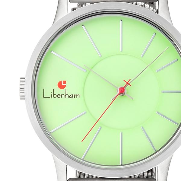 文字盤アップ(Libenham Landschaft Grass-Green(M))