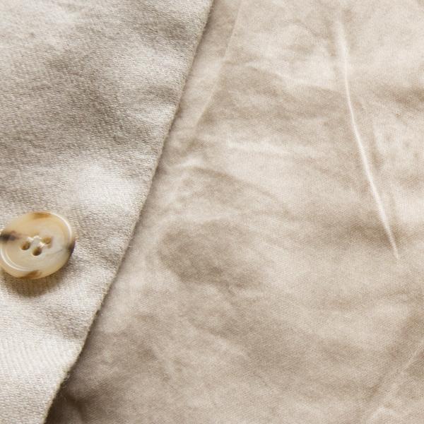 綿100%でやわらかな肌触りの裏地(NATURAL)