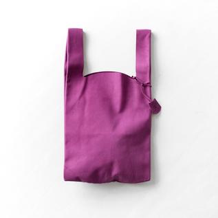 HALLIE LEATHER SHOPPING BAG