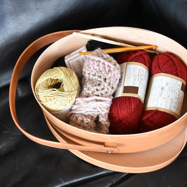 編み物セットを入れて(サイズ1)