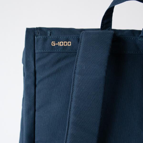 耐久性、防風性のある「G-1000」の生地を使用