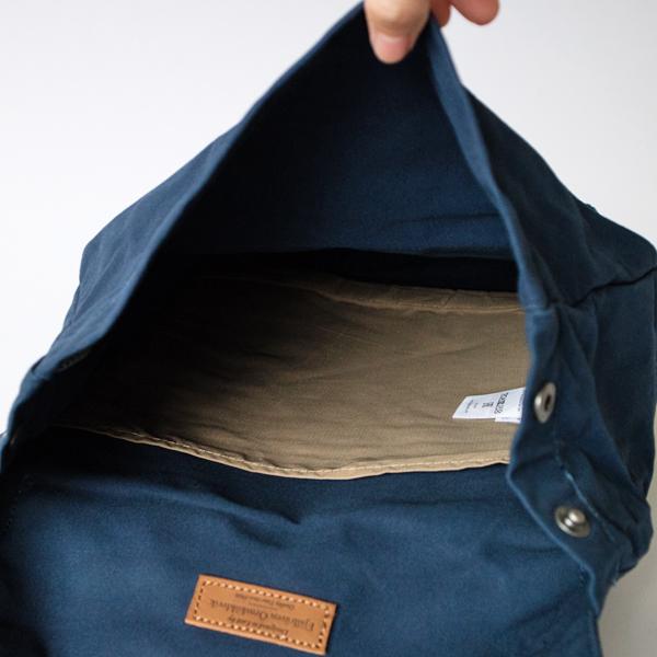 開口部は広く開くため荷物を出し入れしやすく、見つけやすくなっています