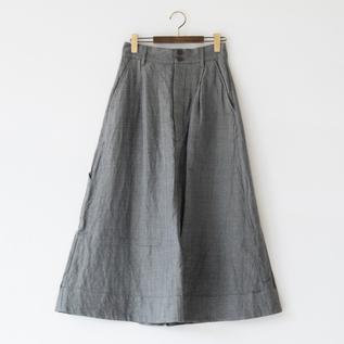 リネンコットンウール スカート