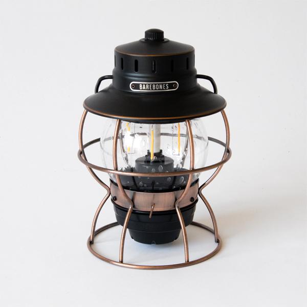 レイルロードランタン LED(ANTIQUE BRONZE)