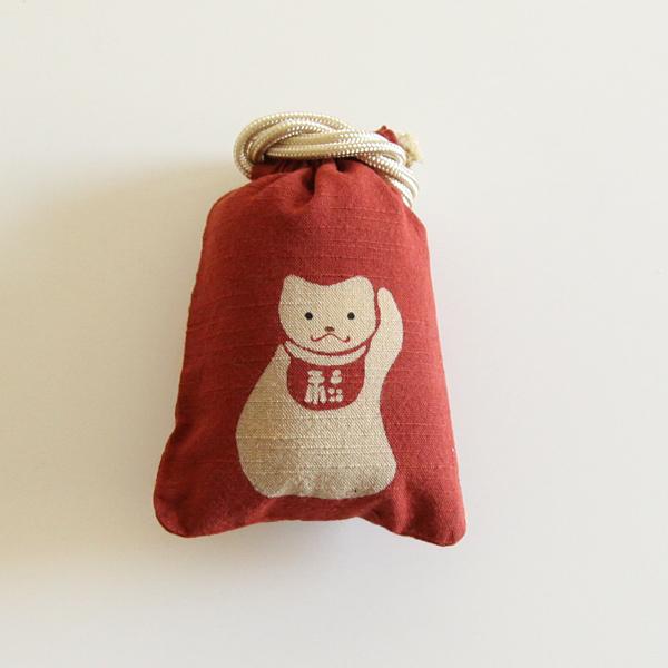 守袋 招き猫