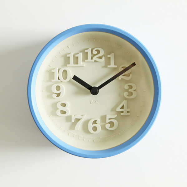 小さな時計(ライトブルー)