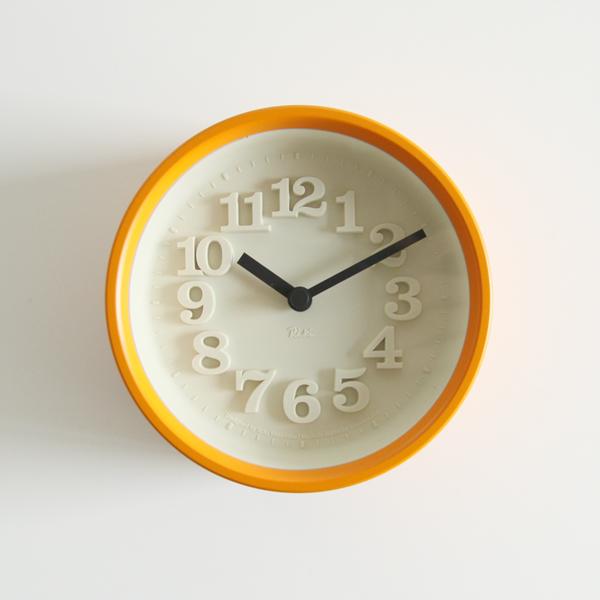 小さな時計(オレンジ)