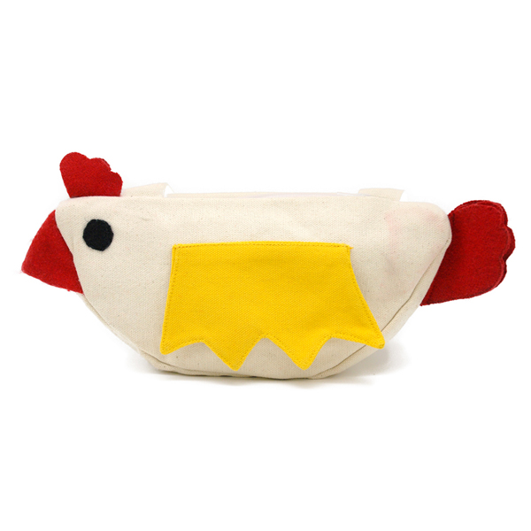 可愛らしい鶏のケース