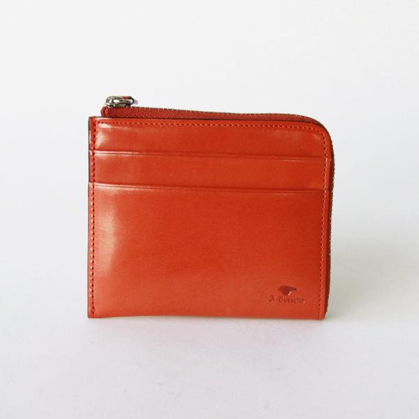 L字ジップ財布 オレンジ