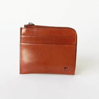 L字型ジップ財布