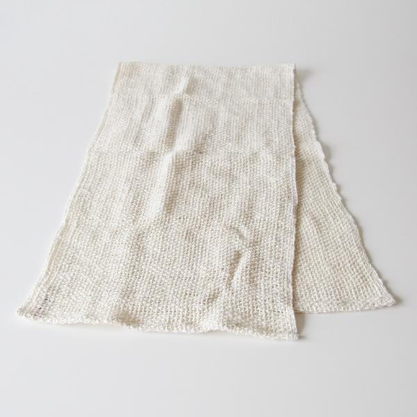 和紡あら織りタオル