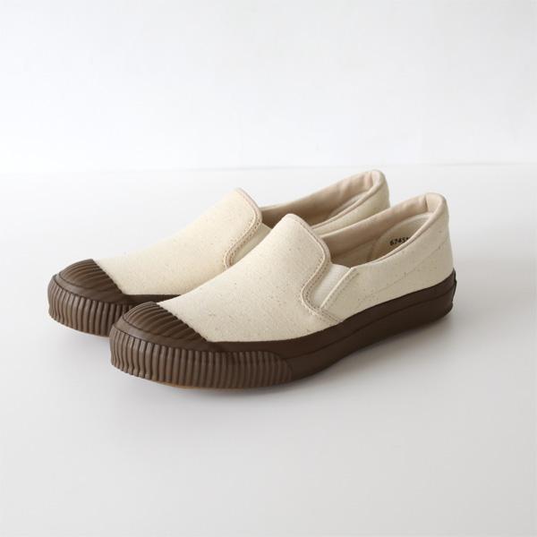 SHELLCAP SLIP-ON BROWN 22cm