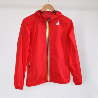 UNISEX PACKABLE WINDBREAKER RED