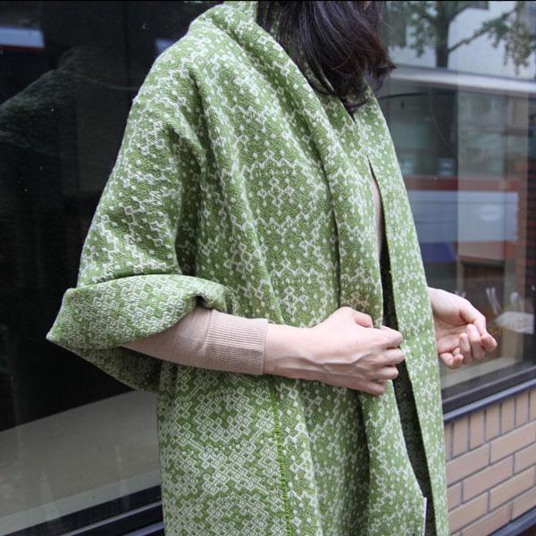 ファッションの差し色に(グリーン/モデル身長:166cm)