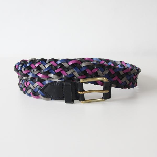 zigzag belt-multi color