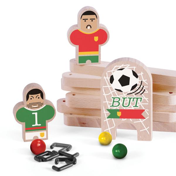可愛らしいサッカー選手たち