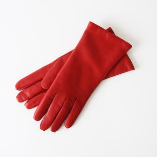 WOMEN LAMBSKIN GLOVES RED