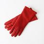 ラムスキングローブ RED(女性用手袋)
