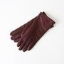 ラムスキングローブ WINE(女性用手袋)