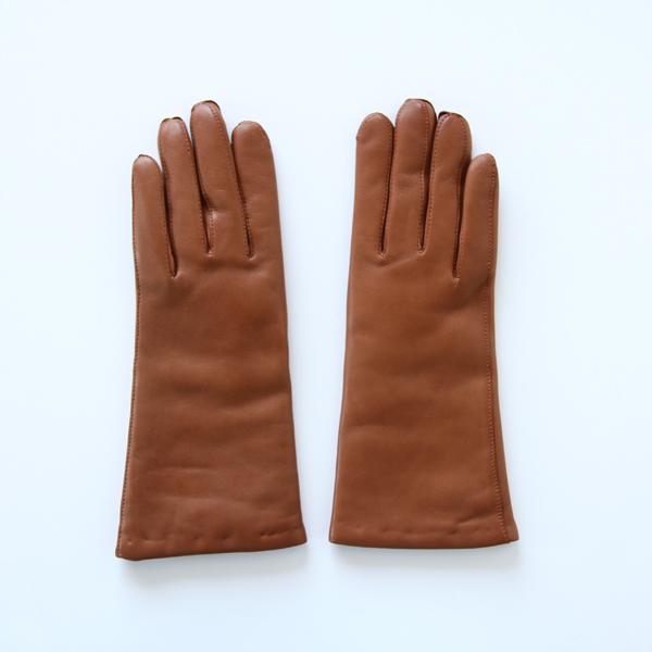 ラムスキングローブ HAZELNUT(女性用手袋)