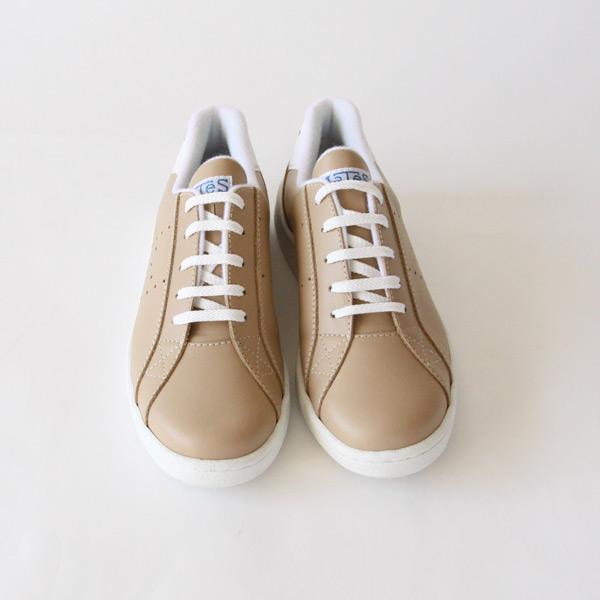 スニーカー Tennis leather Beig