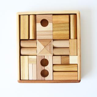 Natural block 30 piece