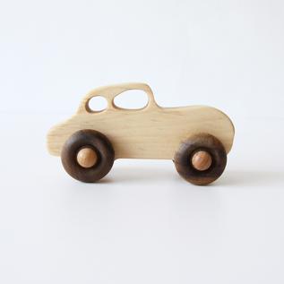 Wooden Toy Retro Car