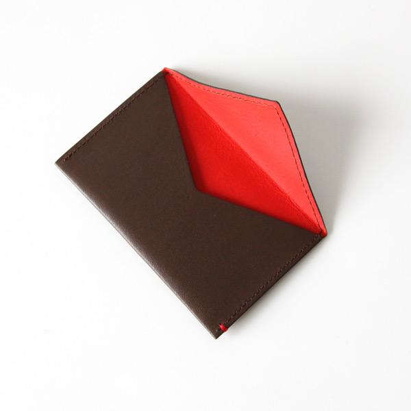 PORTE-CARTE SIMPLE/Brown