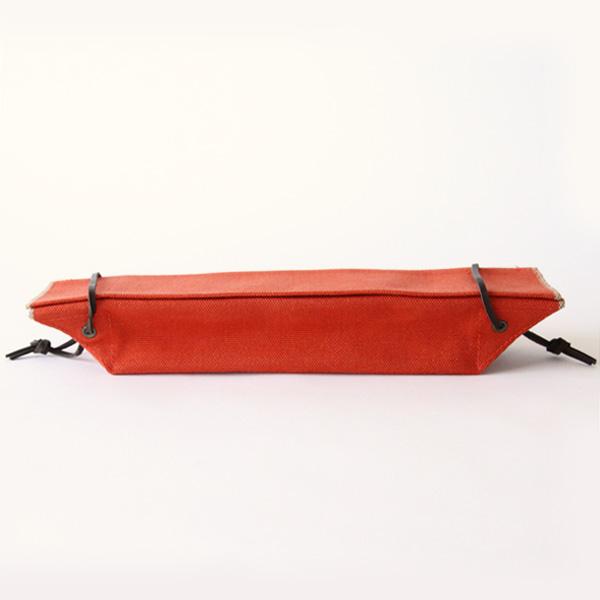 カトラリーケース(コットン帆布)(紅花)