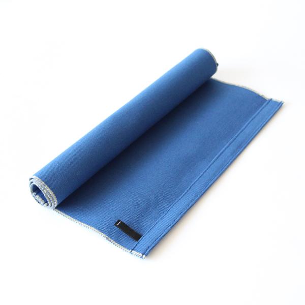 ランチョンマット(コットン帆布)帆布)藍