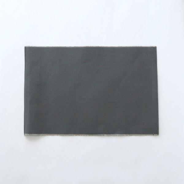ランチョンマット(コットン帆布)墨紺