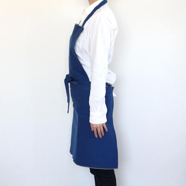 JOBU エプロン(ロングL) 藍