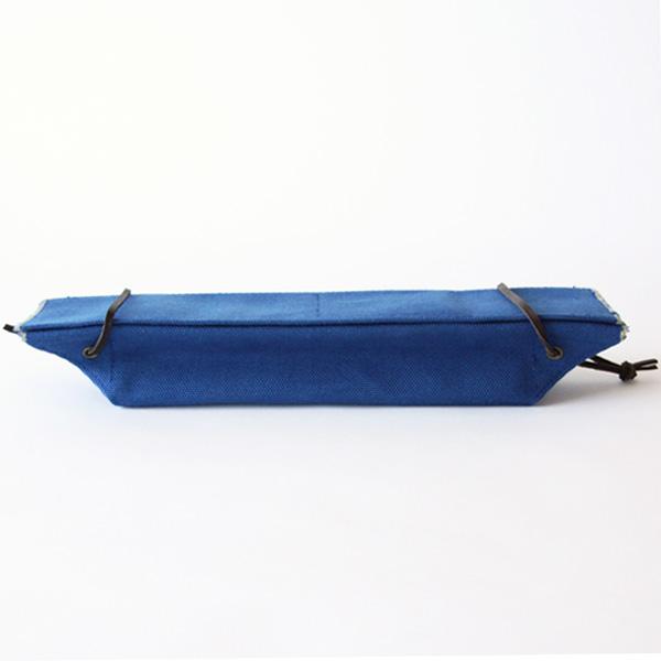カトラリーケース(コットン帆布)(藍)