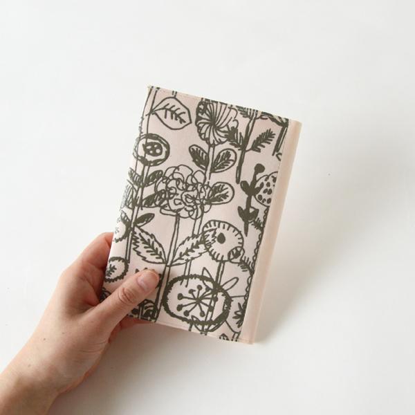 SIWA  ブックカバー letter of flower