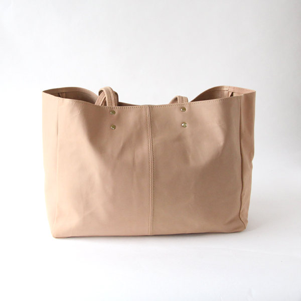 Stilton-L/Simple Totebag-L/Shoe Leather/Natural