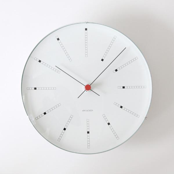 ARNE JACOBSEN Wall Clock Bankers 290mm