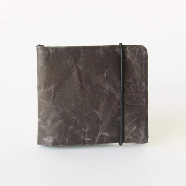 SIWA 2つ折り財布(ダークブラウン)