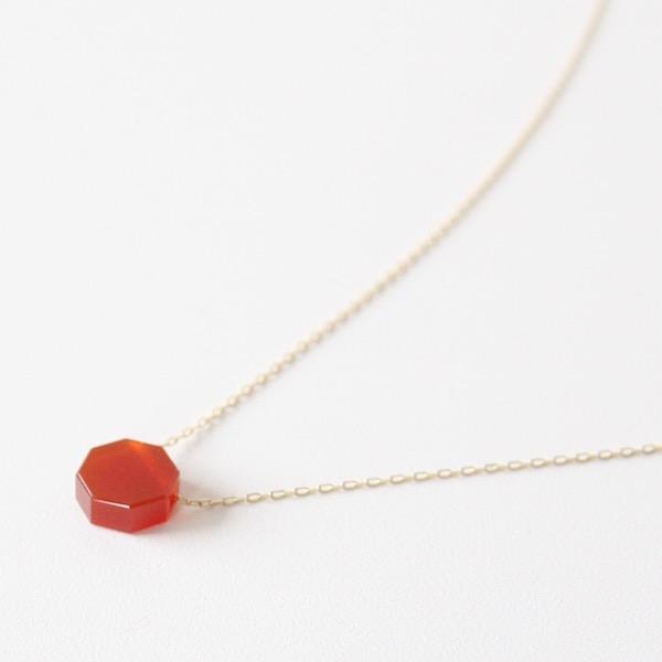 八角形のデザイン(RED)